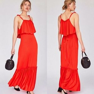 NWT Free People CoCo Popover Maxi Dress